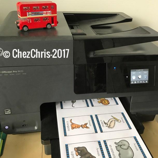 le choix de l'imprimante pour imprimer des documents