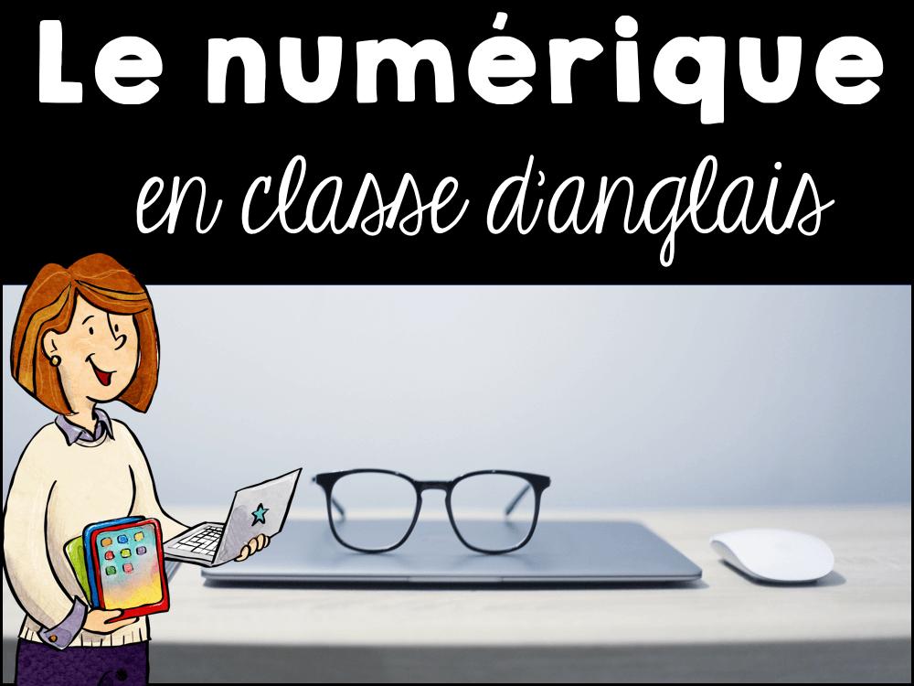 Numérique:  applications – logiciels à utiliser en classe et en dehors de la classe