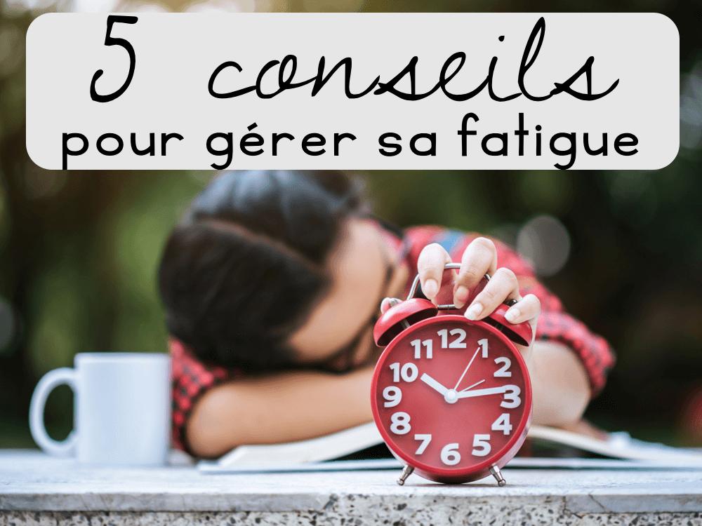 5 conseils pour gérer sa fatigue en décembre