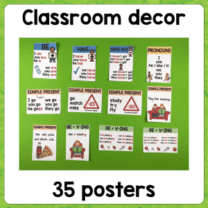 Grammar Posters – Set 1