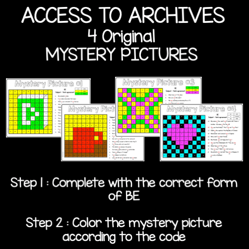 Be mystery pictures - images mystères