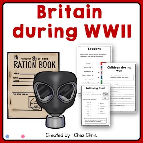 Image de couverture de la ressource : la vie en Grande Bretagne pendant la seconde guerre mondiale