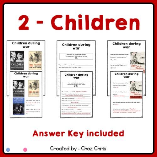 Le statut des enfants en Grande Bretagne pendant la seconde guerre mondiale