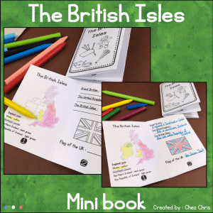 The British Isles Minibook