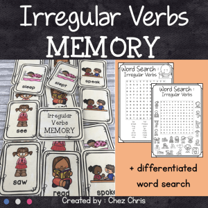 Irregular Verbs – Memory Game