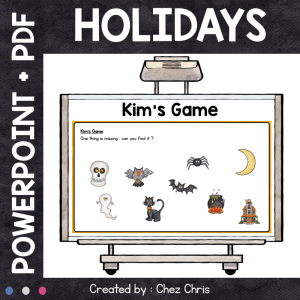 Kim's Game – Holidays