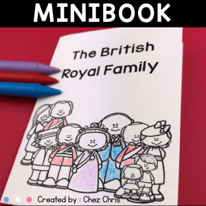 The British Royal Family Minibook