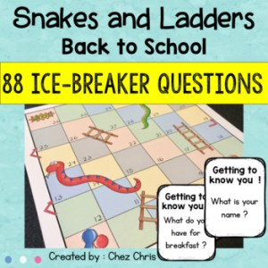 Back to School – Snakes and Ladders