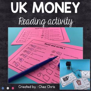 UK Money – Reading Activities