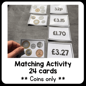 UK Money – Puzzle and Task Cards