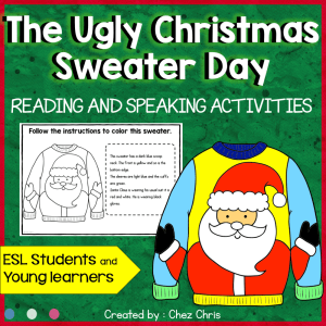 Ugly Christmas Sweater Activities
