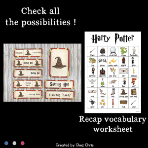 Word Wall Words – Harry Potter