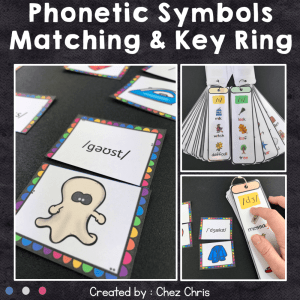 Phonetic Key Ring and Activities