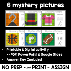 Sounds of ED – Mystery Pictures – Printable and Digital