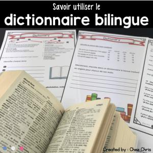 Le dictionnaire bilingue