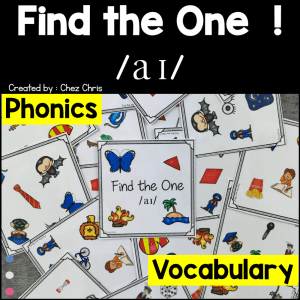Find the one – The sound /ai/