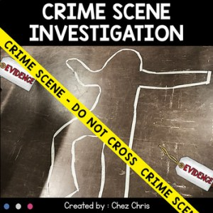 Crime Scene Investigation – Complete Activity