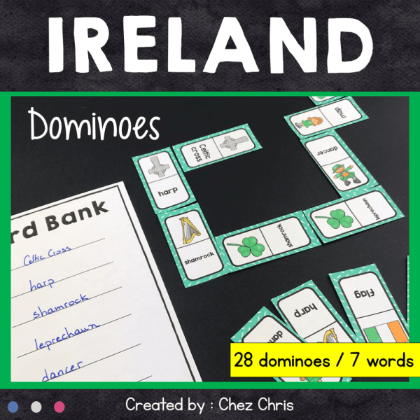 Ireland dominoes