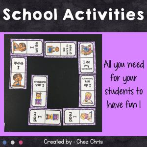 Dominoes School Activities