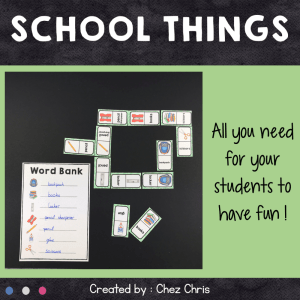 Dominoes School Things – 1