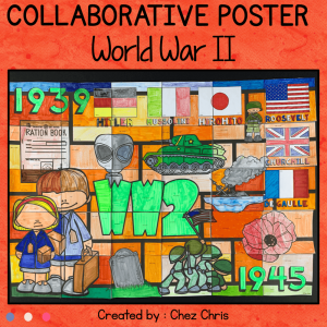 World War 2 – A Collaborative Poster