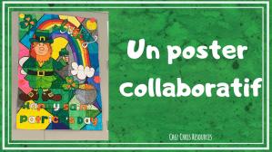 Un poster collaboratif pour la St Patrick