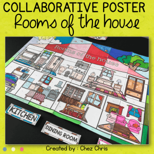 Rooms of the House – A Collaborative Poster