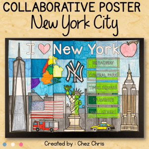 New York City – A Collaborative Poster