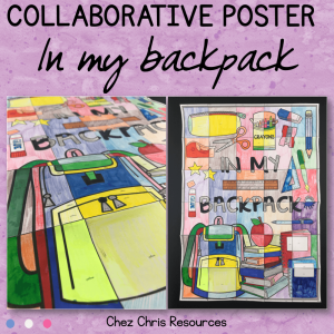 In my Backpack – un poster collaboratif