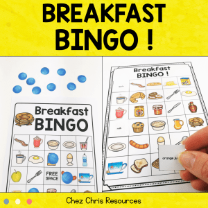 Breakfast Food BINGO !