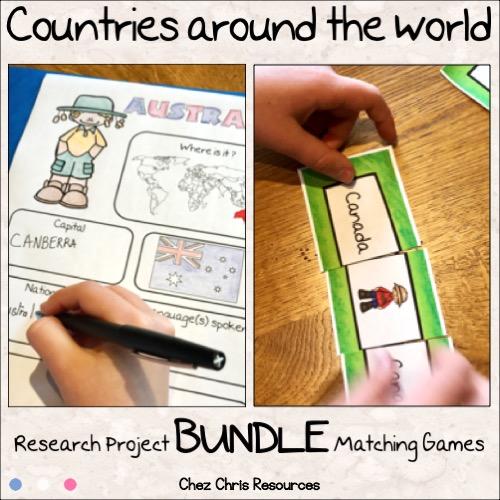 couverture bundle exposé de géographie en anglais