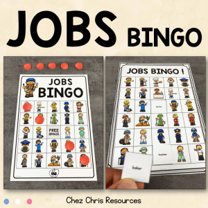 Jobs BINGO Game !