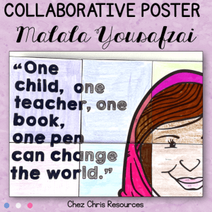 Malala Yousafzai – Collaborative Poster