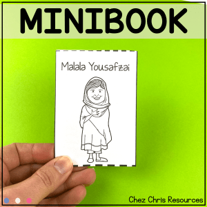 Malala Yousafzai – a minibook