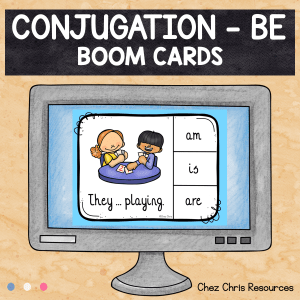 BOOM Cards : BE – Subject Verb Agreement