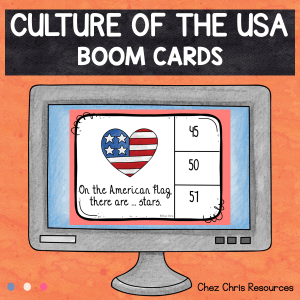 BOOM Cards : Culture of the United States of America