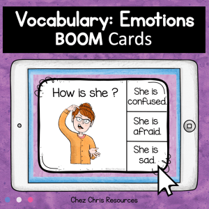 BOOM Cards : Emotions and Feelings Activity