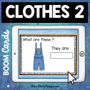 BOOM Cards : Clothes – Set 2