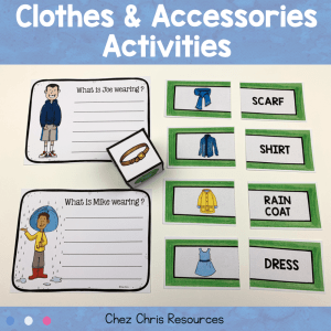 Clothes and Accessories Activities