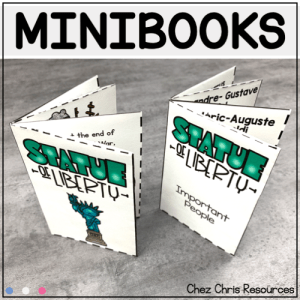 The Statue of Liberty Mini Books