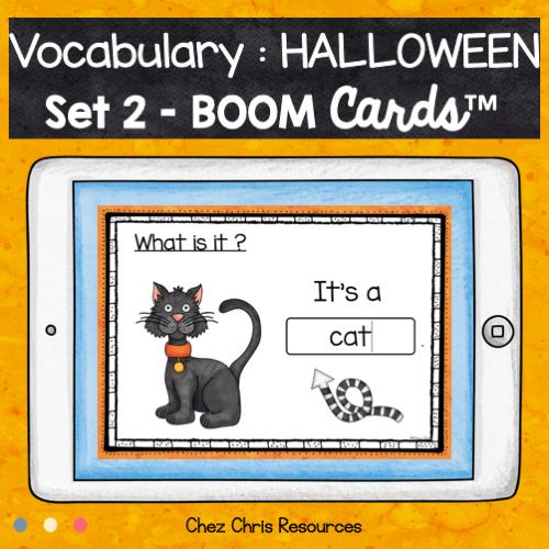 boom cards halloween