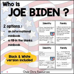 Joe Biden – President Mini Book