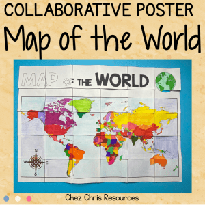 Map of the World – A Collaborative Poster