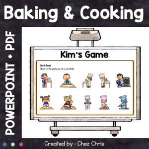 Kim's Game – Baking and cooking