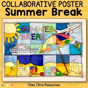 couverture du poster collaboratif vacances d'été