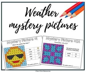les images mystères sur la météo