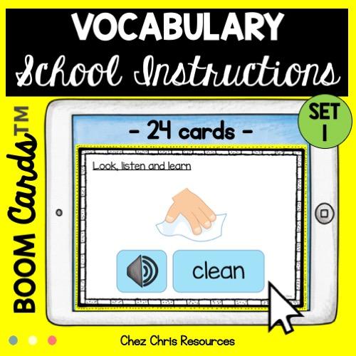 Vignette 2: Les consignes de classe en anglais: écoute, regarde et lis