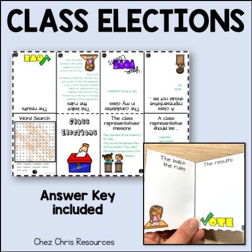 mini livre: réponses - élection des délégués de classe