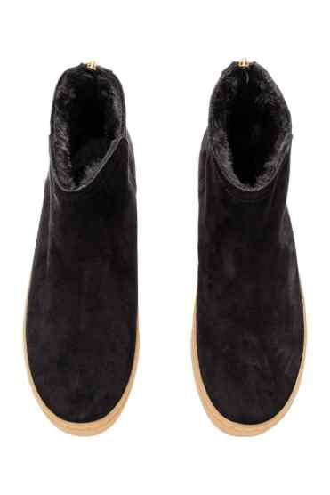 Suede boots/Ghete din piele intoarsa