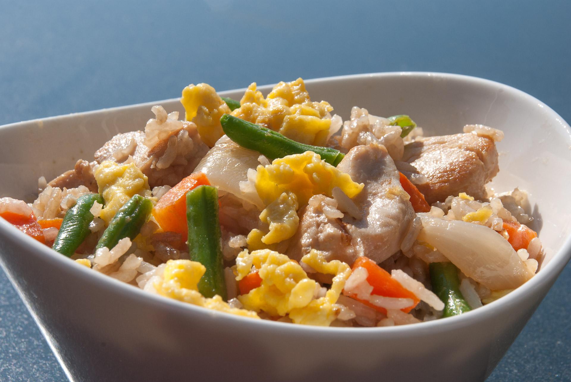 Stekt ris på vietnamesisk vis